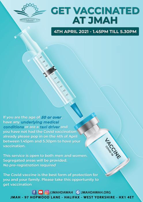 Vaccination Clinic at JMAH